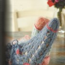 Knitting Pattern Book-Knitted Comfort For The SOLE-22 Designs For Socks-Slippers