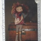 "Sew Special Doll Pattern-20"" Frizzie Lizzie-Folk Type Dolly"