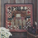 "Quilt & Applique Pattern-Fall Friends-22"" x 22"""