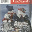 "Christmas In July-Simplicity Holiday-Faith Van Zanten-22"" & 33"" Snowmen-Snowgals"