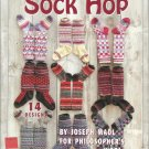 Knit Pattern Booklet-SOCK HOP-14 Designs