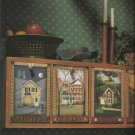 Tole Painting Instruction Book-Charming Village Scenes You Can Paint-9 Projects