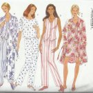 Butterick Fast & Easy Pattern-Misses Robe-Belt-Top-Shorts-Pants-Sizes L-XL