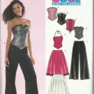 New Look Pattern-COOL Juniors Top-Skirt -Pants  in Sizes 3/4-13/14