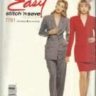 Easy McCall's Pattern-Misses Lined Jacket-Skirt-Pants-Sizes 12-14-16-18 Uncut