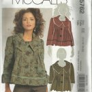 Plus Size McCall's Pattern-Misses Lined Jackets-Sizes 14-16-18-20 Uncut