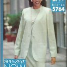 Plus Size Butterick Pattern-See & Sew  Misses Jacket & Dress-Sizes 16-24