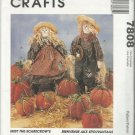 "McCall's Crafts Pattern-21"" Scarecrow Dolls-Clothes & Pumpkins in 3 Sizes"