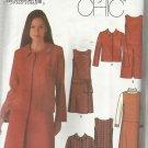 Simplicity Pattern-Easy Chic Karen Z-Misses Dress-Jumper-Skirt & Jacket Sz 12-18