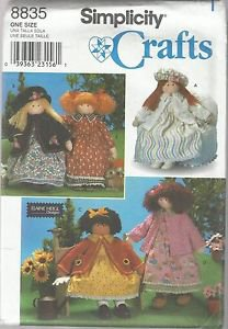 "Simplicity Crafts Pattern #8835 Elaine Heigl Designs-26"" Doll & Clothes"