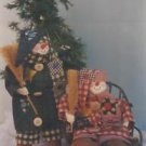 """Craft Pattern-Mr. Sniggles Snowman 12"""" Doll & Clothes"""