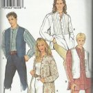 STYLE Pattern #2594-Men & Misses Shirt and Vest  S-XXL