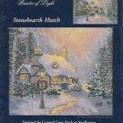 Cross Stitch Chart-Thomas Kinkade-Stonehearth Hutch  OOP