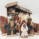 Tole Painting Pattern #527-The Stenciled Duck-Nativity Set