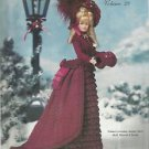 Crochet Collector Costume Vol. 29-1875 Winter Carrage Costume-BARBIE