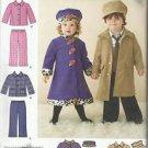 Simplicity Pattern #2526-Toddlers Coats-Jacket-Pants & Hat-Sz 1/2-1-2-3-4  CUTE!