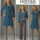 Plus Size Pattern-Threads-Women's Dress/Top-Pants-Jacket-Knit Top-Sizes 20W-28W