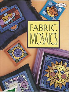 Pattern Book-Fabric Mosaics by Pastimes-Fusible Applique-Minimal Sewing