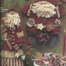 Tole Painting Pattern Booklet-Candy Corn & Christmas Cookies-Snowman & Santa