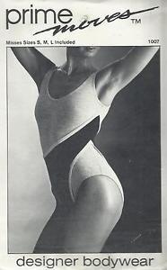Prime Moves Pattern-Designer Bodywear-Misses Sizes S-M-L