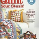 Quilt Instruction & Pattern Booklet-Quilt Your Stash-Bags-Pillows-Quilts++++