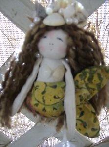Handmade Mermaid Ornament and Home Decor Wall Hanging