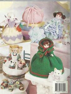 Crochet Pattern Booklet-Crochet Double The Fun Dolls-Adorable