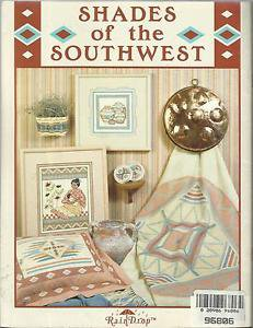Cross Stitch Pattern Booklet-Shades of the Southwest Book 4-Rain Drop