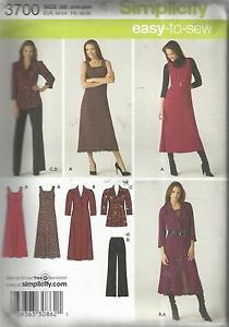 Simplicity Pattern-Women's Pants-Dress-Jumper-Tunic-Shirt Dress Sz 20W-28W