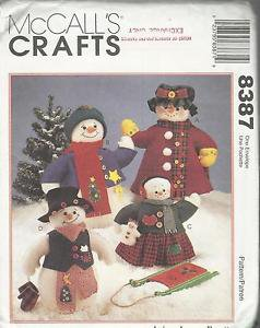 McCall's Crafts Pattern #9120-Bag Holders by Michelle Hains-Girl-Cow-Cat-Bunny