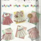 Simplicity Design Your Own Dress Pattern #7353-Girl's Dress in Sizes 2-6X