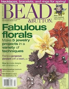 Bead & Buttons Magazine-April  2009-Fabulous Florals Make 5 Jewelry Projects