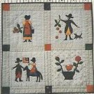 "Quilt Pattern-Betty Alderman Designs-The Milkmaid's Album Quilt-23 3/4"" x 23 3/4"