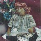 "Primitive Bear Doll Pattern-Alexandra 26"" Bear Doll & Clothes-Too Cute  UNCUT"