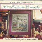 Cross Stitch & Needlework-1997 Keepsake Calendar-Better Homes & Gardens-Lighthou
