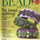 Bead & Buttons Magazine-June 2008-Try Bead Quilling-Japanese Loomwork-Bead a Ros