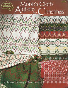 Monk's Cloth Afghans for Christmas-by Terrace Beesley & Boerens-Beautiful