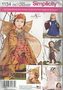 """Simplicity Doll Clothes Pattern For 18"""" Doll Clothes"""