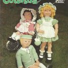 "Crochet Pattern Booklet-33"" Crochet Cousins Doll & Clothes"