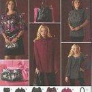 Simplicity Pattern-Misses Cape-Capelet-Tunic & Bags- Sz 6-8-10-12-14  UNCUT