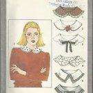 Vintage Simplicity Pattern #9761-Misses Set of Collars