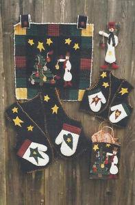 Quilt Pattern-Lost & Found-The Teacher's Pet-Wall Quilt-Vest-Gift Bag-Christmas