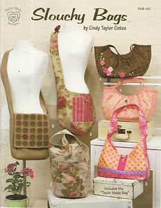 Pattern Booklet-Slouchy Bags By Cindy Taylor Oates  Christmas In July