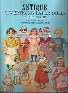 3 Antique Reproductions Paper Dolls Booklets-3 1915-1920-Advertising-Kate Greena