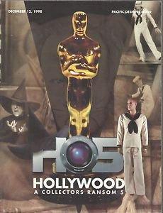 HOLLYWOOD A Collectors Ransom 5-Cowardly Lion-Batman-Marilyn Monroe-Flying Monke