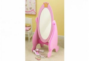 Kidkraft Princess Cheval Mirror KK76137 Pink OUT OF STOCK