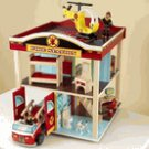 Kidkraft  Fire Station Set  KK63236    Multi*OUT OF STOCK