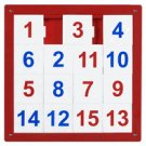 Anatex Number Puzzle Wall Panel 1-15  NPZ7719 Multi