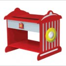 Kid Kraft Firemans Red Fire Hydrant Toddler Nightstand Table  KK 76024