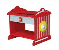 Kid Kraft Firemans Red Fire Hydrant Toddler Nightstand Table  KK 76024